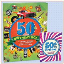 50th Birthday Box